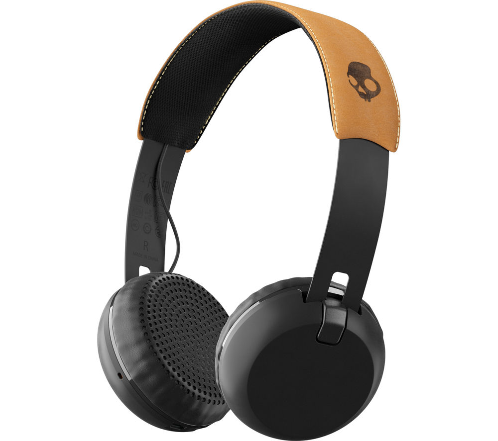 SKULLCANDY  Grind S5GBW-J543 Wireless Bluetooth Headphones - Black, Black