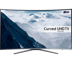 "SAMSUNG UE55KU6500 Smart 4k Ultra HD HDR 55"" Curved LED TV"