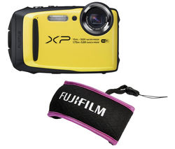 FUJIFILM XP90 Tough Compact Camera - Black & Yellow