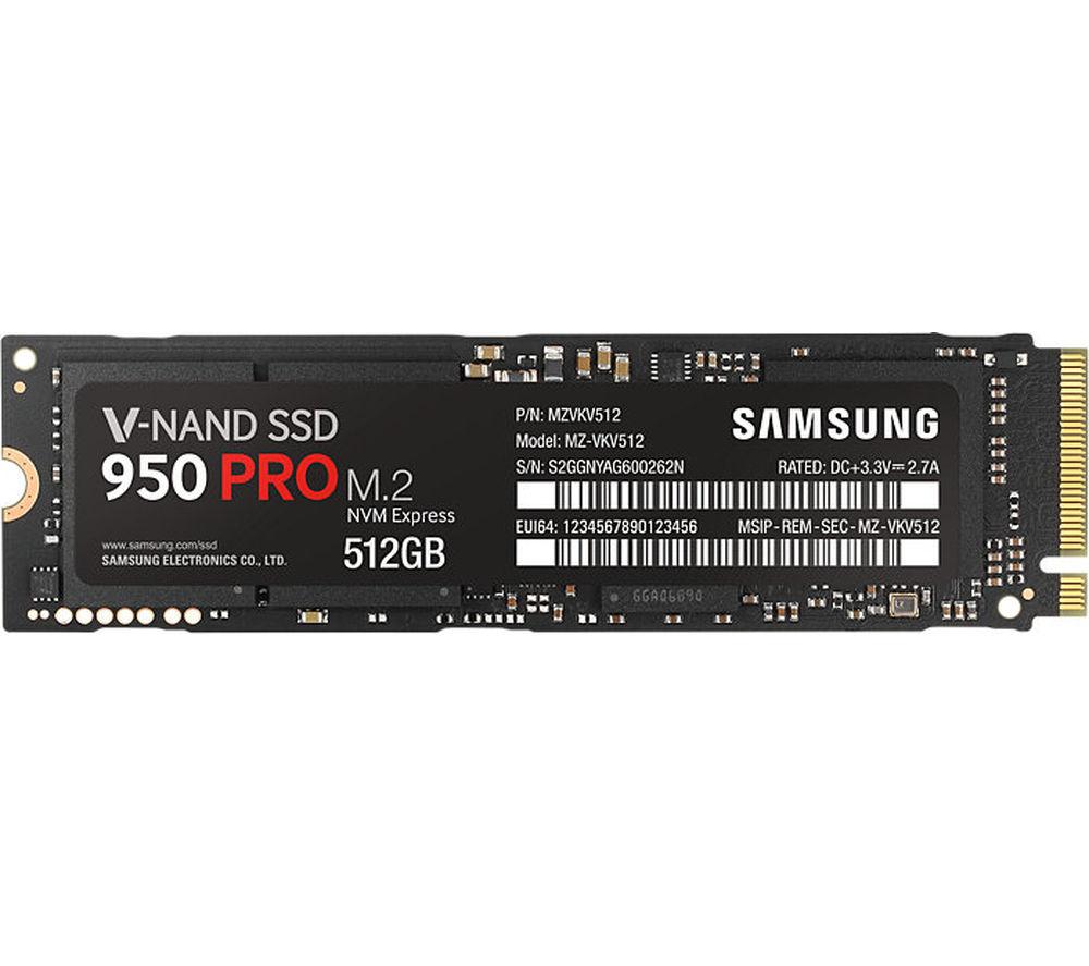 Samsung 950 Pro M.2 Internal SSD - 256 GB