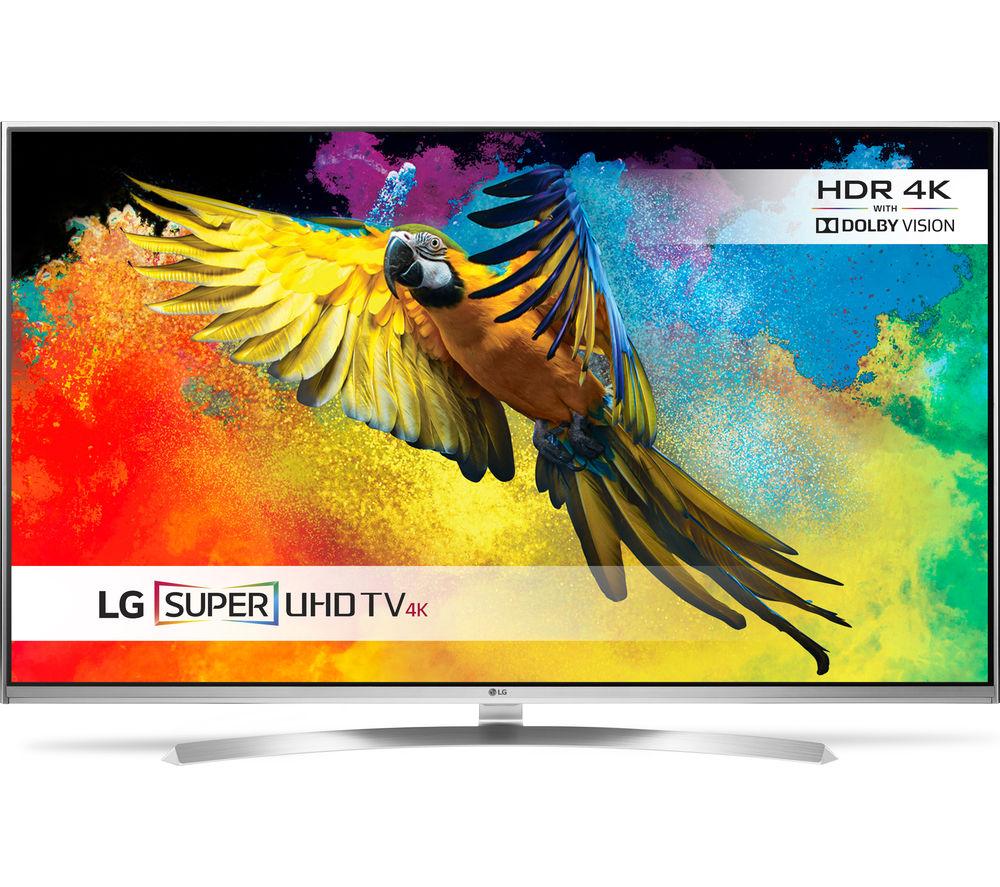 "65"" LG 65UH850V Smart 3D 4K Ultra HD HDR  LED TV"