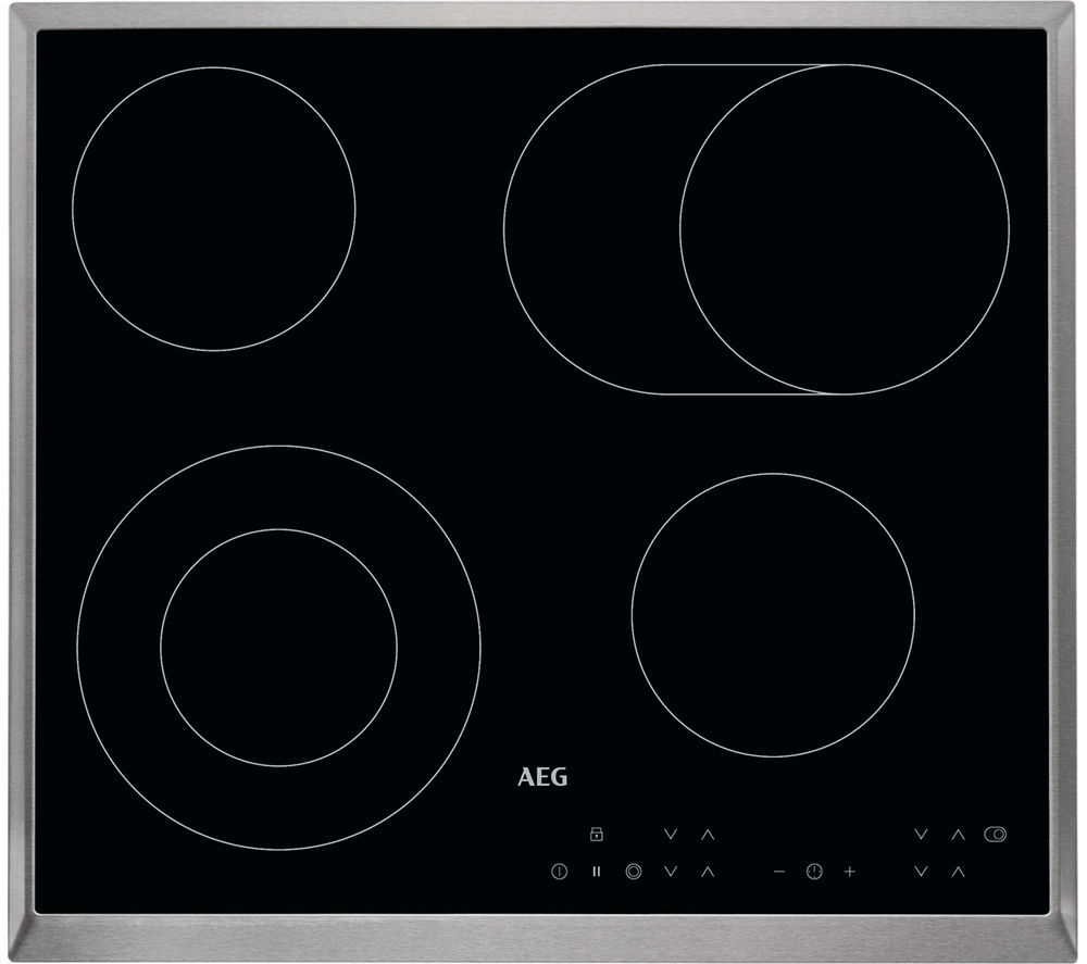 AEG  HK634060XB Electric Ceramic Hob  Black Black