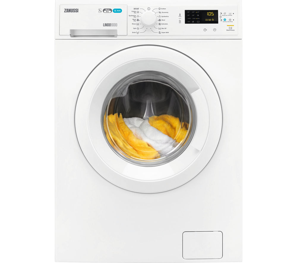 ZANUSSI ZWD71463NW Washer Dryer Review