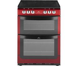NEW WORLD NW601EDO Electric Cooker - Metallic Red