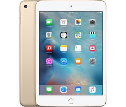 APPLE iPad mini 4 Cellular - 32 GB, Gold