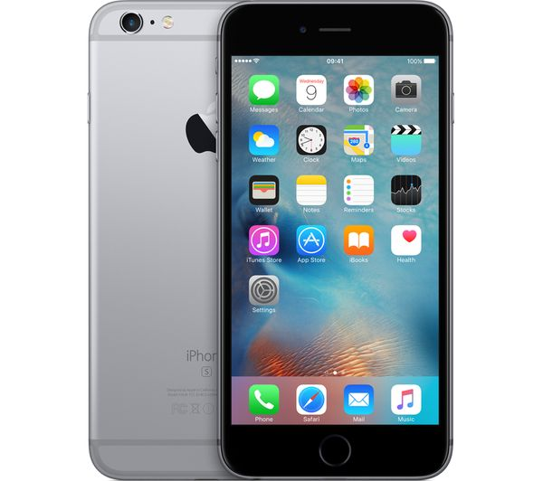buy apple iphone 6s plus 32 gb space grey free delivery currys. Black Bedroom Furniture Sets. Home Design Ideas