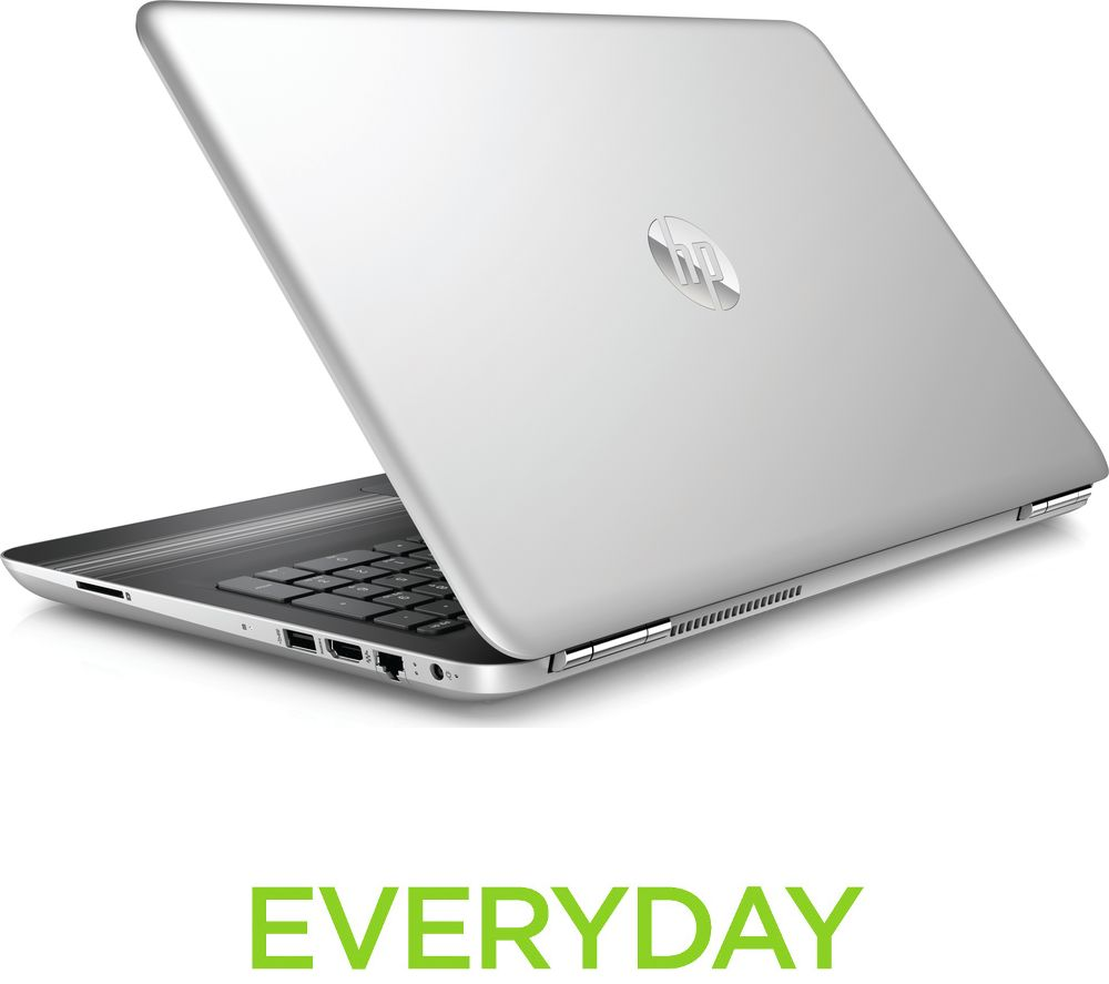"HP Pavilion 15-aw054sa 15.6"" Laptop - Silver + Office 365 Personal + LiveSafe Unlimited 2017 - 1 year"