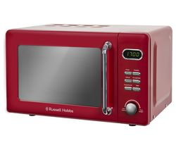 RUSSELL HOBBS RHRETMD706R Solo Microwave - Red