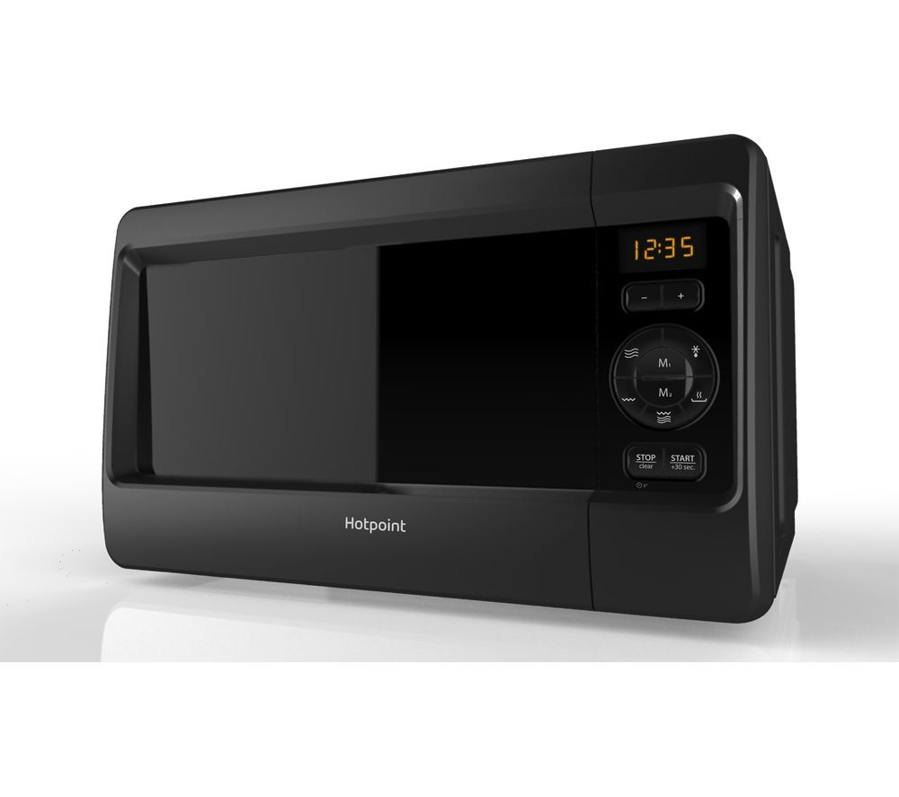 HOTPOINT  HD Line 4 MWH 2421 Solo Microwave  Black Black