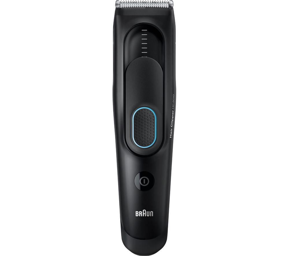 Image of BRAUN HC5010 Hair Clipper - Black, Braun