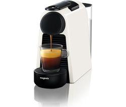 NESPRESSO by Magimix Essenza Mini Coffee Machine - Pure White