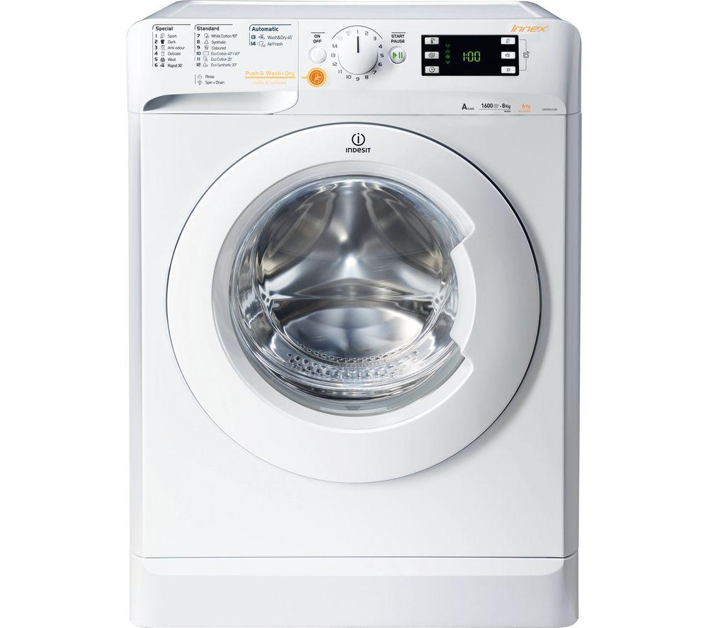 buy indesit xwde 751480x w 7 kg washer dryer white. Black Bedroom Furniture Sets. Home Design Ideas