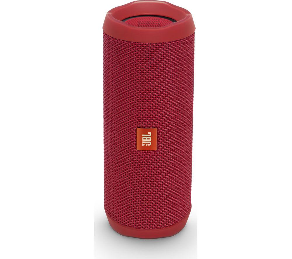 Jbl flip 4 portable bluetooth wireless speaker red deals for Housse jbl flip 4