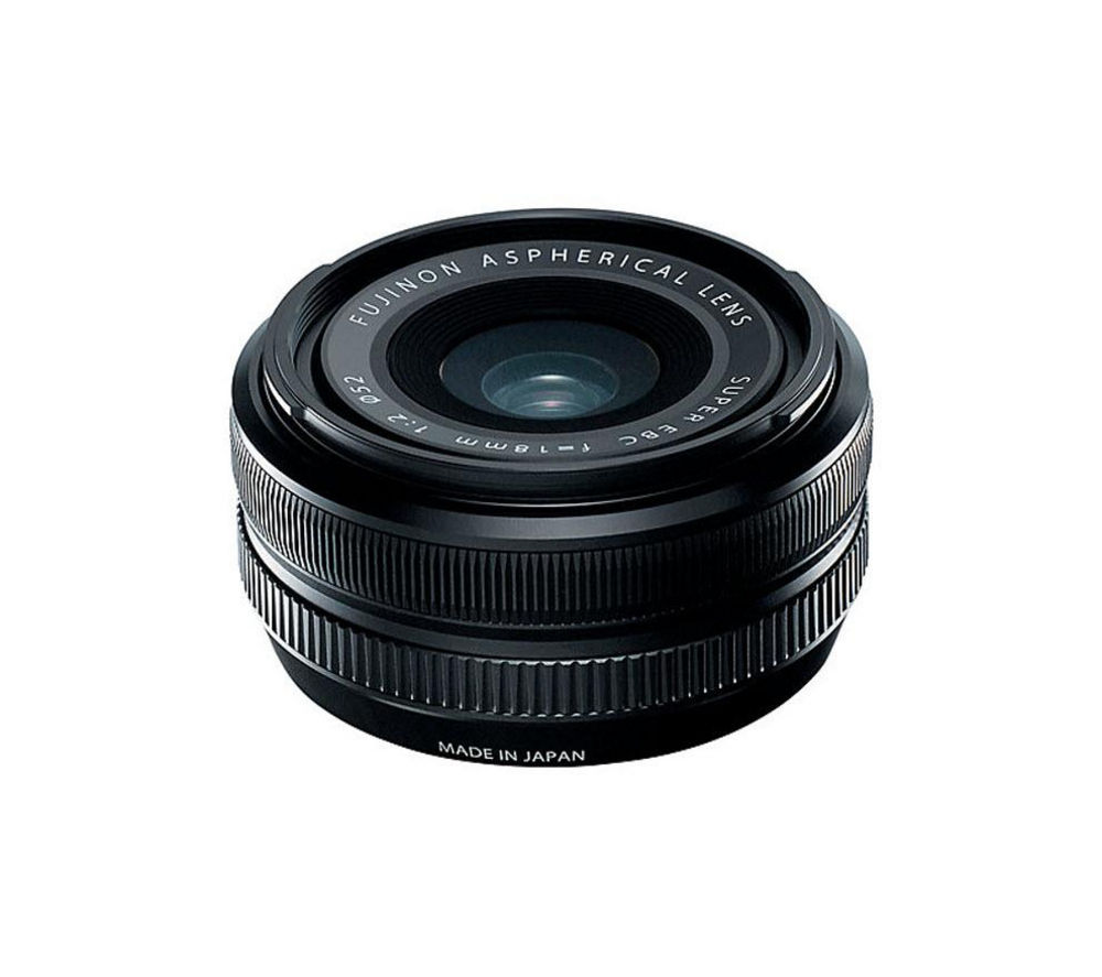 FUJIFILM  Fujinon XF 18 mm f/2 R Wide-angle Lens +  DSLR Cleaning Kit