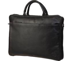 "DBRAMANTE 1928 BG16PHD0113HD 16"" Leather Laptop Case - Black"