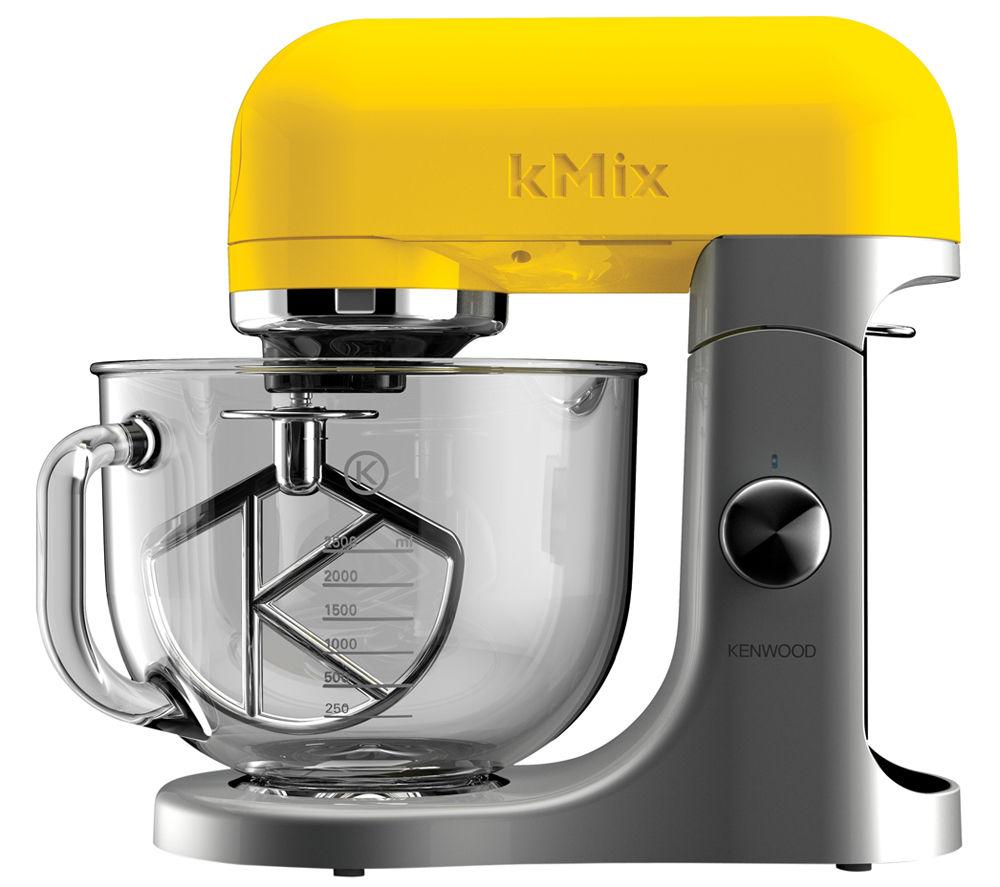 Yellow Small Kitchen Appliances: Buy KENWOOD KMix KMX50GYW Food Mixer - Yellow