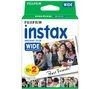 FUJIFILM P10GM13220A Instax Wide Film - Twin Pack (Text Duplicated)