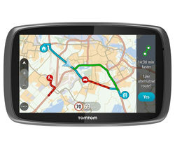 "TOMTOM GO Traffic 6100 6"" Sat Nav - with Worldwide Maps"
