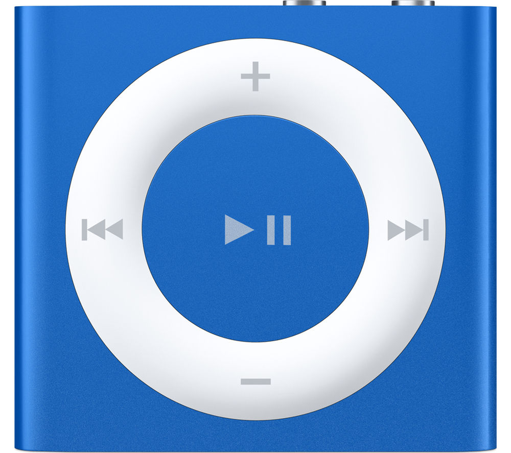 Image of APPLE iPod shuffle - 2 GB, 5th generation, Blue, Blue