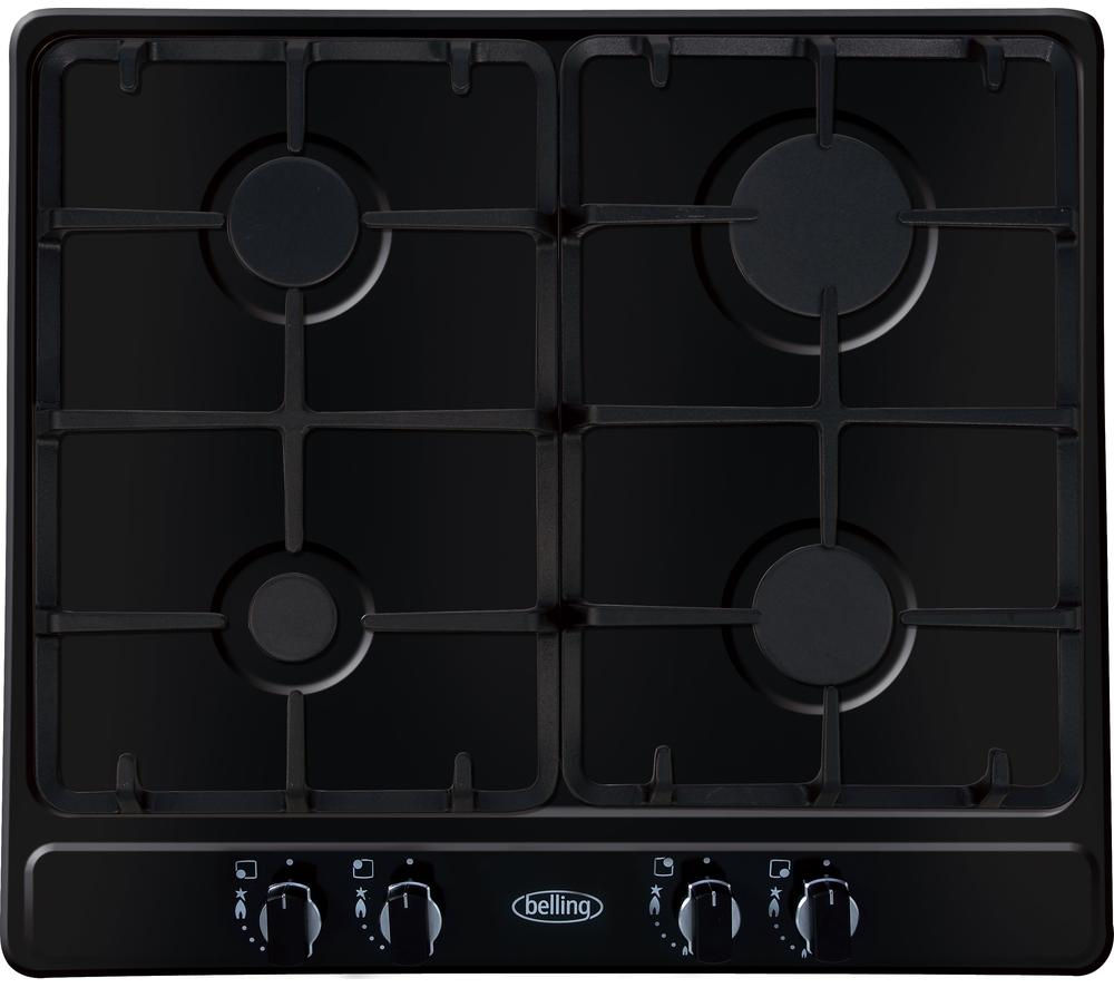 BELLING  GHU60GC Gas Hob  Black Black
