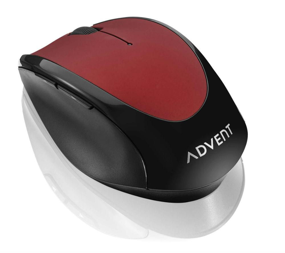 ADVENT  AMWLRD15 Wireless Optical Mouse - Red, Red