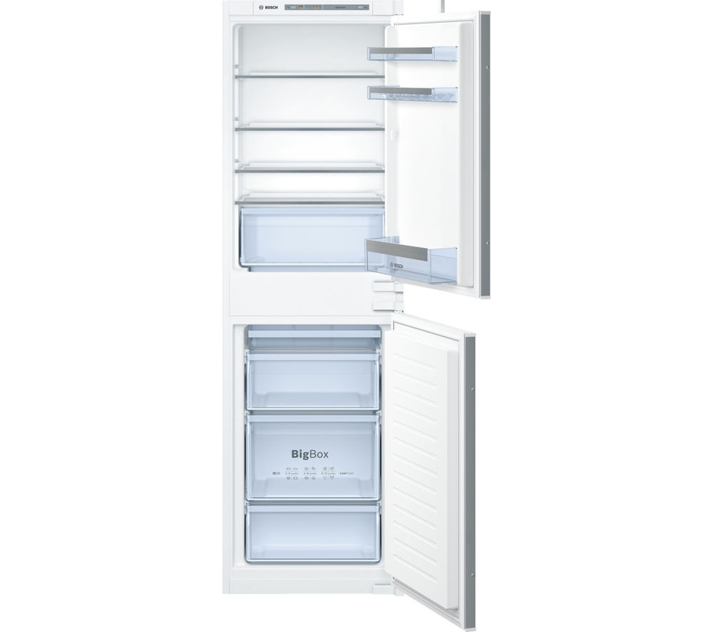 Buy bosch kiv85vs30g integrated fridge freezer free - Integrated freezer ...