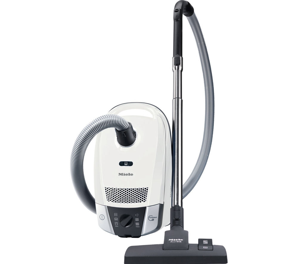 buy miele compact c2 allergy ecoline cylinder vacuum cleaner lotus white free delivery currys. Black Bedroom Furniture Sets. Home Design Ideas