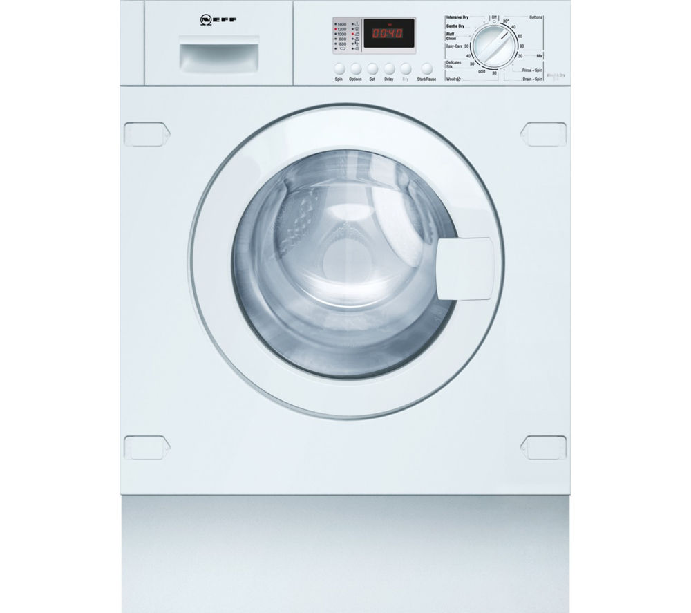 NEFF V6320X1GB Integrated Washer Dryer