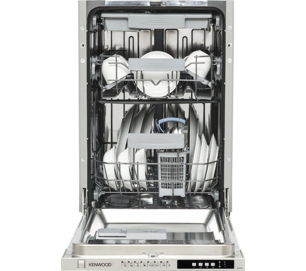 KENWOOD  KID45S16 Slimline Integrated Dishwasher