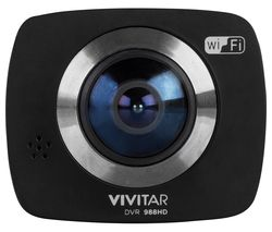 VIVITAR DVR 988HD 4K Ultra HD 360 Action Camcorder - Black