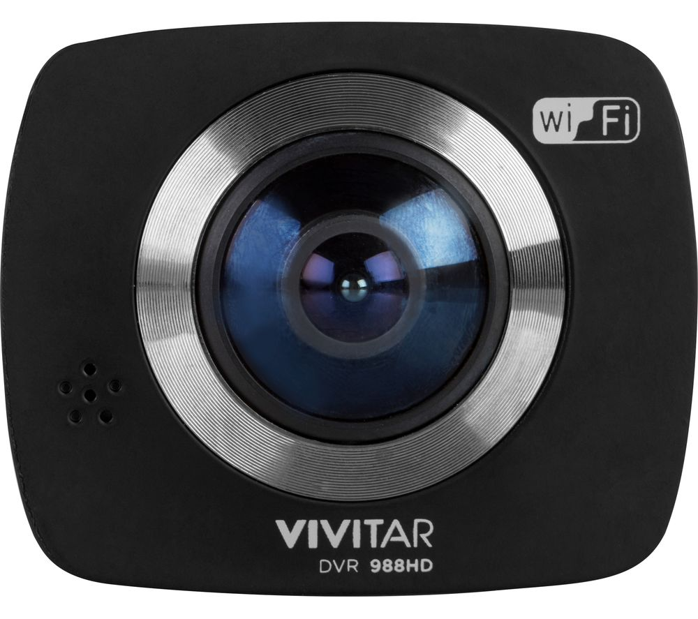 VIVITAR  DCM107-BLK Dash Cam - Black, Black