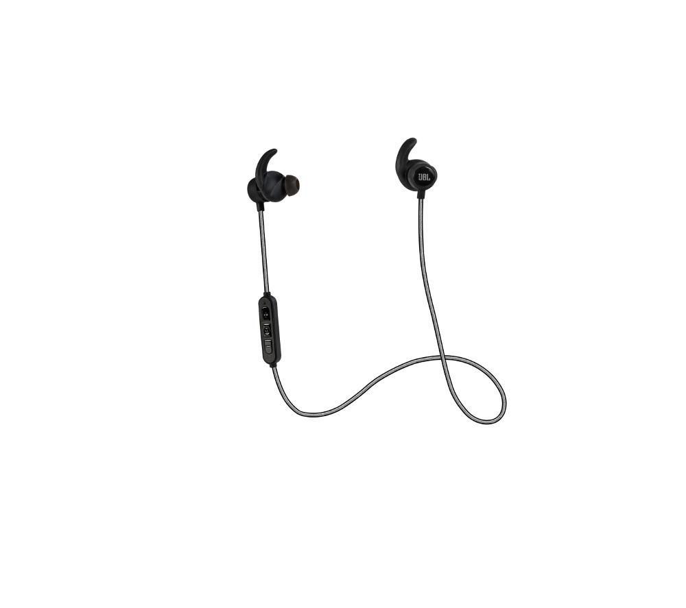 JBL  Reflect Mini Headphones  Black Black
