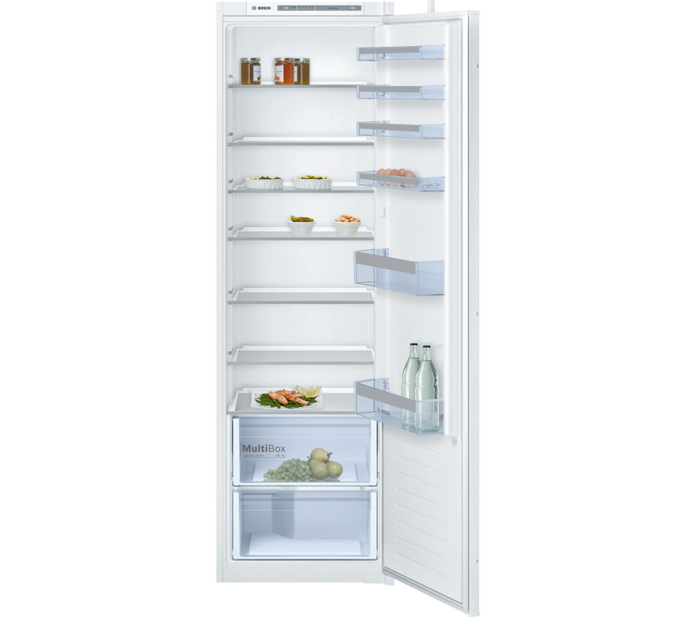 buy bosch kir81vs30g integrated tall fridge free delivery currys. Black Bedroom Furniture Sets. Home Design Ideas