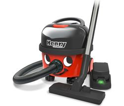 NUMATIC Henry Hoover Cordless Vacuum Cleaner - Red