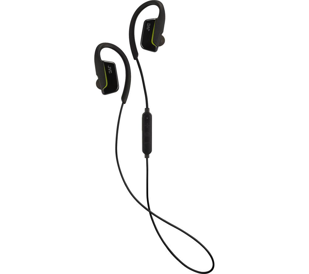 JVC HAEC30BTBE Wireless Bluetooth Headphones  Black Black