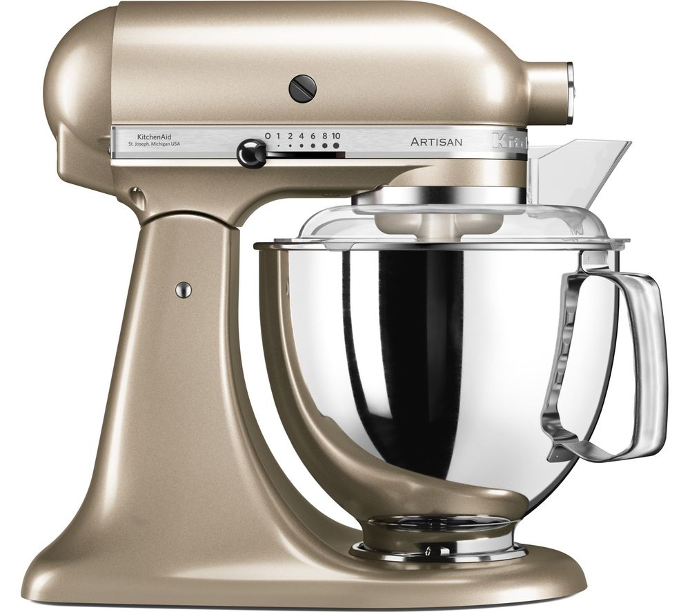 Buy Kitchenaid Artisan 5ksm175psbcz Stand Mixer Golden Nectar Free Delivery Currys