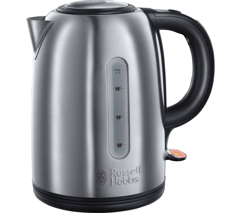 buy russell hobbs snowdon 20441 jug kettle stainless steel free delivery currys. Black Bedroom Furniture Sets. Home Design Ideas