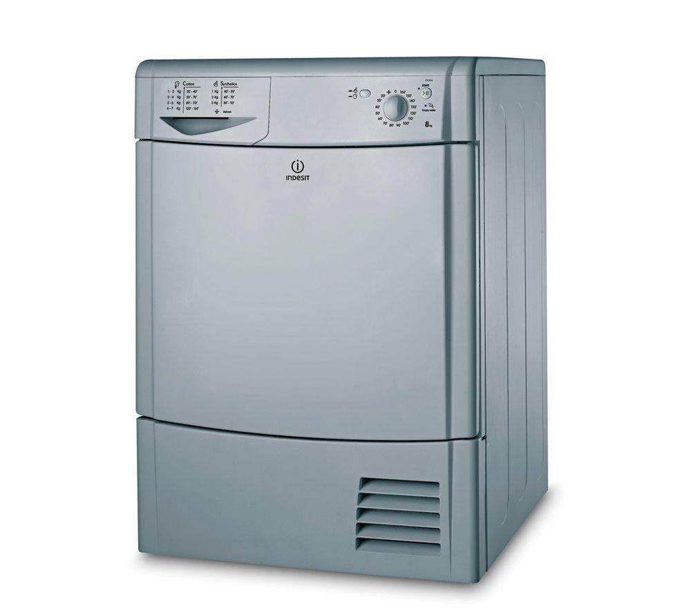 Tumble Dryer Uk ~ Indesit idc s condenser tumble dryer silver