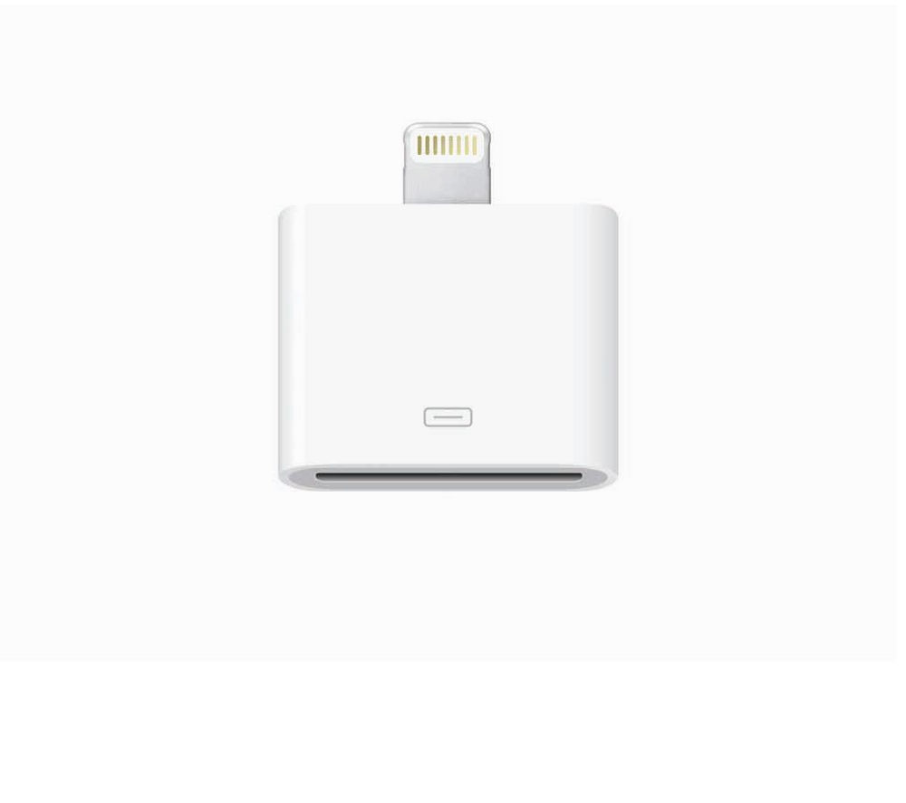 APPLE Lightning to 30-pin Adapter for iPad, iPad mini, iPod & iPhone 5