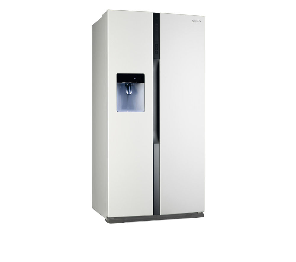 PANASONIC NR-B53VW2-WB American-Style Fridge Freezer - White