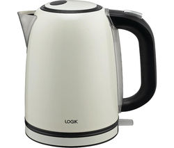 LOGIK L17SKC14 Jug Kettle - Cream
