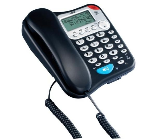 LOGIK L04CTEL10 Corded Phone with Answering Machine