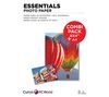 ESSENTIALS A4 / 100 x 150 mm Photo Paper Combi Pack - 40 Sheets