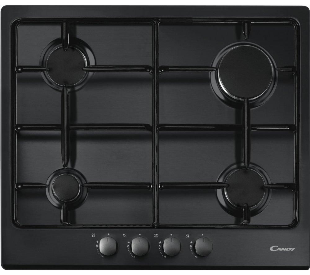 CANDY  CPG64SPN Gas Hob  Black Black