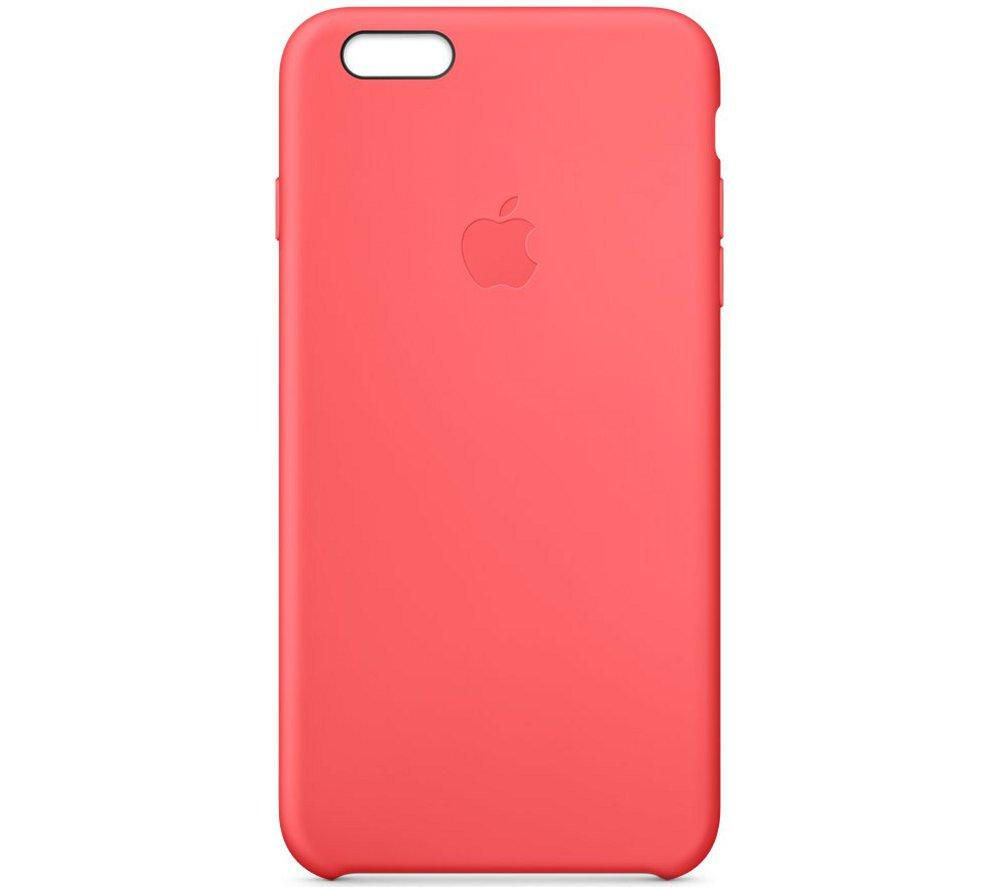 buy apple iphone 6 plus silicone case pink free. Black Bedroom Furniture Sets. Home Design Ideas
