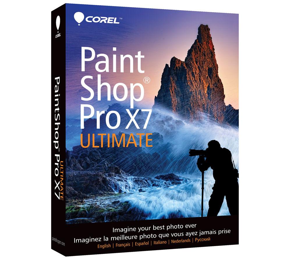 how to use corel paintshop pro x7