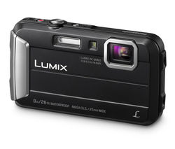 PANASONIC Lumix DMC-FT30EB-K Tough Compact Camera - Black