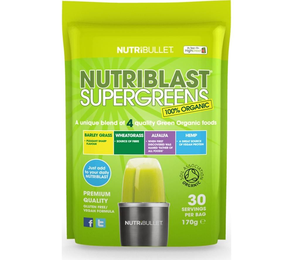 NUTRIBULLET Nutriblast Supergreens