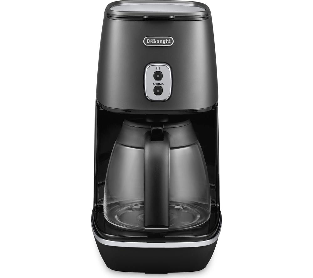 buy delonghi distinta icmi211 bk filter coffee maker black free delivery currys. Black Bedroom Furniture Sets. Home Design Ideas