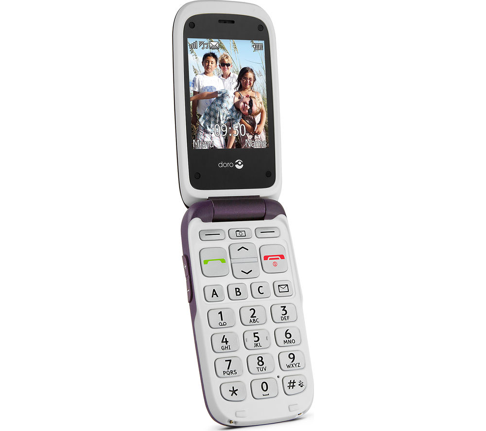 DORO PhoneEasy 612 - Purple